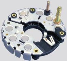 Placa rectificadora de diodos
