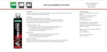 Tapa fugas bombas inyectoras